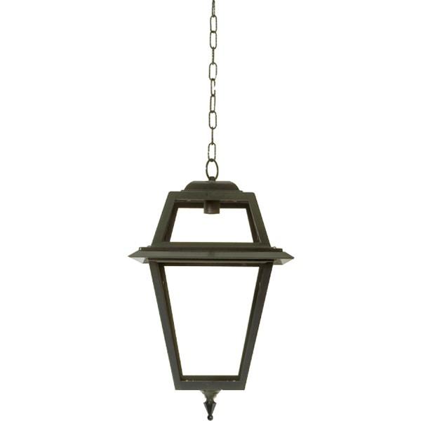 Plafondlamp Voorburg met ketting L - 57 cm
