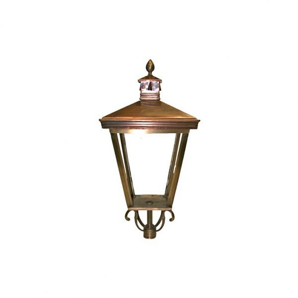 Buitenverlichting Klassiek Landelijk Losse buitenlamp Brons K24 - 60 cm