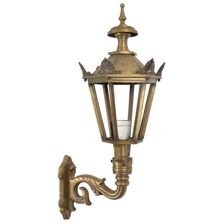 Buitenverlichting Nostalgisch Klassiek Gevellamp Bergen met kronen - 70 cm