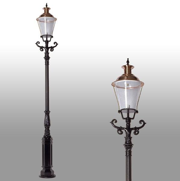 Buitenverlichting Nostalgisch Klassiek Tuinlantaarn Lingewaard - 315 cm