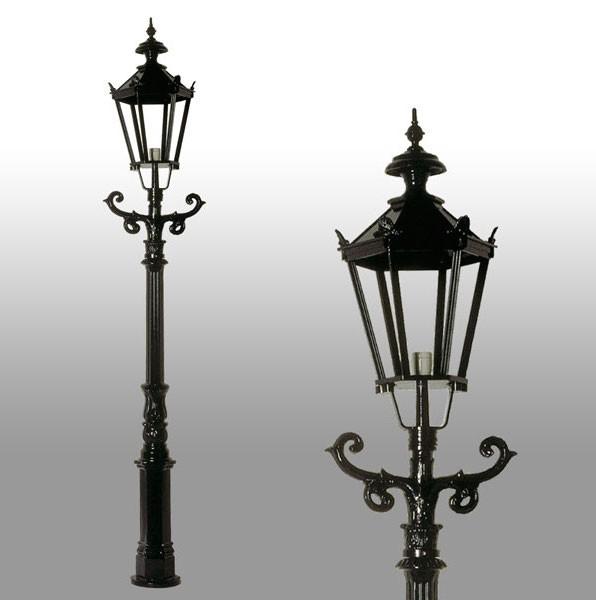 Buitenverlichting Nostalgisch Klassiek Terraslantaarn Zaltbommel - 225 cm