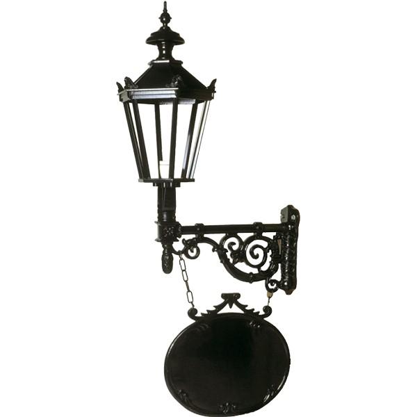 Muurlamp Tiel met kronen - 140 cm