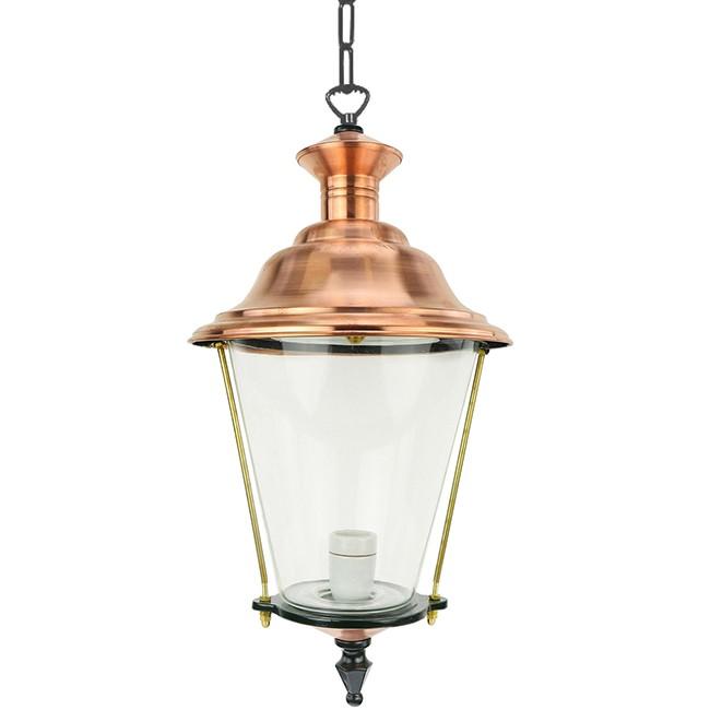 Buitenverlichting Klassiek Landelijk Plafondlamp Elburg aan ketting L - 70 cm