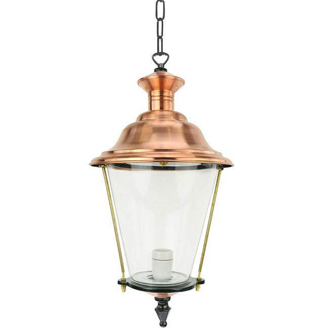 Buitenverlichting Klassiek Landelijk Plafondlamp Elburg aan ketting M - 55 cm