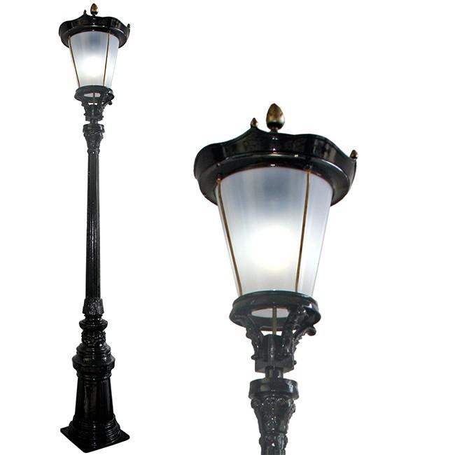 Buitenverlichting Nostalgisch Klassiek Lantaarnpaal Alkmaar XXL - 445 cm