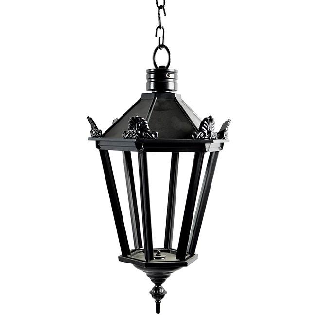 Buitenverlichting Nostalgisch Klassiek Kettinglamp Elburg met ketting M - 50 cm