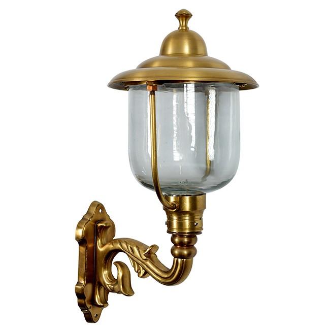 Buitenverlichting Nostalgisch Klassiek Wandlamp Venlo Brons - 45 cm