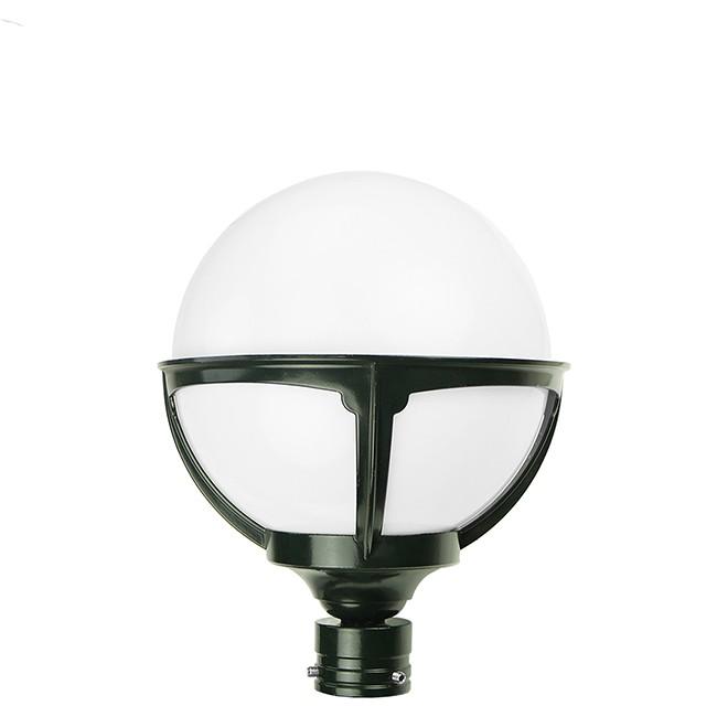 Buitenverlichting Klassiek Landelijk Losse buitenlamp bol opaal - Ø 20