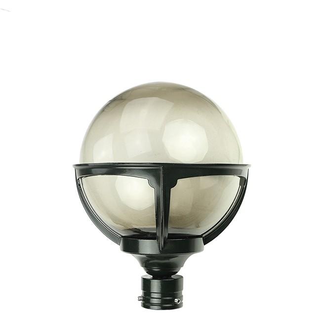 Buitenverlichting Klassiek Landelijk Losse buitenlamp bol rookglas - Ø 20