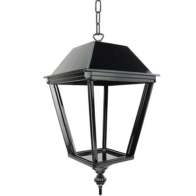 Buitenverlichting Nostalgisch Klassiek Hanglamp Laren met ketting M - 45 cm