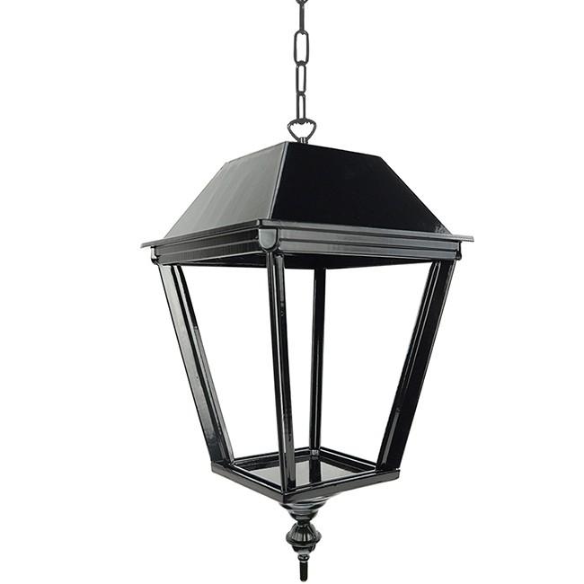 Buitenverlichting Nostalgisch Klassiek Hanglamp Laren met ketting S - 40 cm