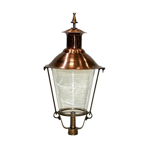 Buitenverlichting Klassiek Landelijk Losse lantaarnkap Brons K26 - 80 cm