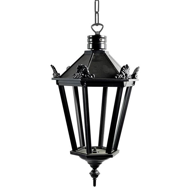 Buitenverlichting Nostalgisch Klassiek Kettinglamp Elburg met ketting L - 60 cm