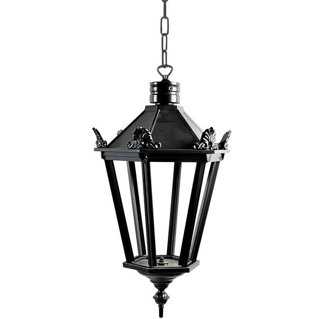 Buitenverlichting Nostalgisch Klassiek Kettinglamp Elburg met ketting S - 40 cm