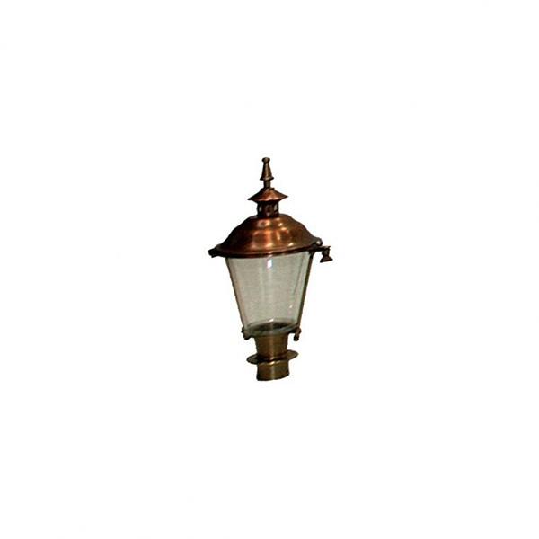 Buitenverlichting Klassiek Landelijk Losse lantaarnkap Brons K28 - 40 cm
