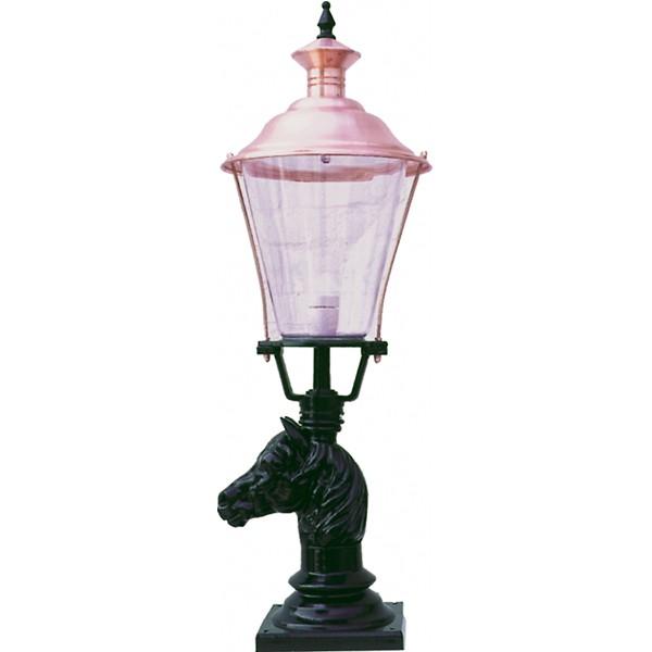 Terraslamp Nijkerk koper - 95 cm