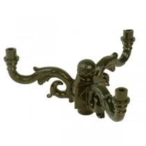 Kroon ornament lantaarnpaal - Ø 34 cm