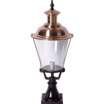 Buitenverlichting Nostalgisch Klassiek Buitenlamp Epe koper - 76 cm