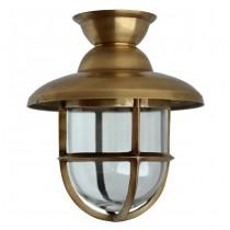 Buitenverlichting Maritiem Nautisch Scheepslamp Atlantic messing - 42 cm