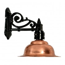 Buitenverlichting Nostalgisch Klassiek Franse stallamp Maasssluis - 45 cm