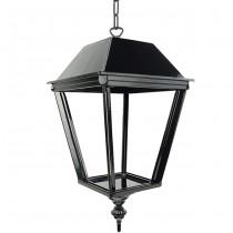 Buitenverlichting Nostalgisch Klassiek Hanglamp Laren met ketting L - 55 cm