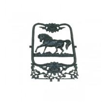Geveldecoratie Raamdecoratie Deurrooster paard raamornament - 70 cm