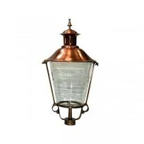 Buitenverlichting Klassiek Landelijk Losse lantaarnkap Brons K25 - 100 cm