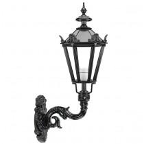 Buitenverlichting Nostalgisch Landelijk Schutting lamp Woudsend met kronen - 85 cm