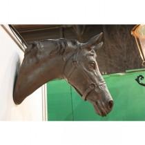 Paardenhoofd ornament brons - 42 cm