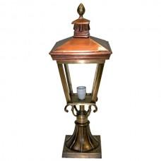 Tuinlamp Tilburg brons/koper - 75 cm