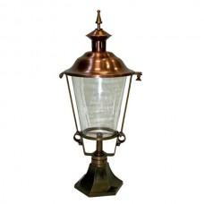 Tuinlamp Zuidhorn brons/koper - 70 cm