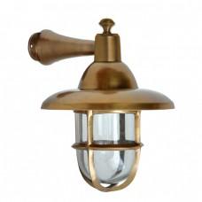 Buitenverlichting Maritiem Nautisch Scheepslamp Oculus messing - 42 cm