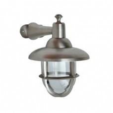 Buitenverlichting - Maritiem Nautisch Scheepslamp Pacific Nikkel 28 cm