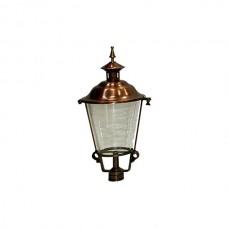 Buitenverlichting Klassiek Landelijk Losse lantaarnkap Brons K27 - 60 cm