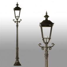 Buitenverlichting Nostalgisch Klassiek Tuinlantaarn Lochem - 295 cm