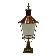 Tuinlamp Delft brons/koper - 88 cm