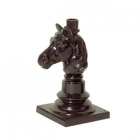 Losse tuinsokkel Paard - 37 cm