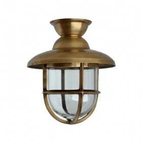 Scheepslamp Atlantic messing - 28 cm