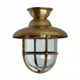 Scheepslamp Atlantic messing - 32 cm