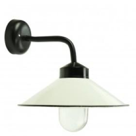 Boerderijlamp emaille deksel - 35 cm