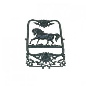 Deurrooster paard raamornament - 70 cm