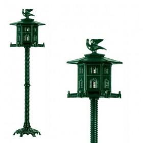 Vogelhuis aluminium - 173 cm