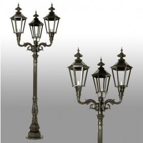 Straatlantaarn Castricum 3-lichts - 275 cm